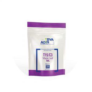 תפרחות קנאביס ML מייפל ליף אינדיקה | T15/C3