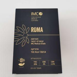 תפרחות קנאביס - זן רומא- IMC