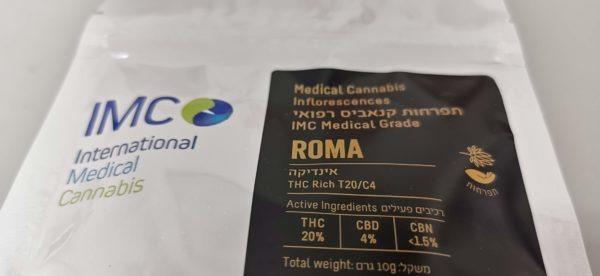 תפרחות קנאביס – רומא T20/C4 (אינדיקה)