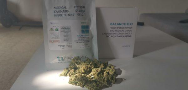תפרחות קנאביס רפואי T15/C3 - Balance DO
