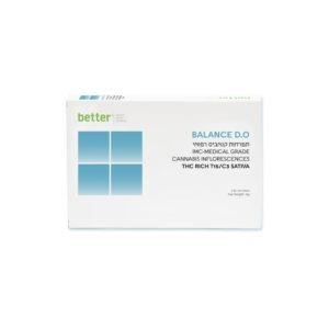 תפרחות קנאביס BALANCE D.O T15C3 סאטיבה של חברת בטר