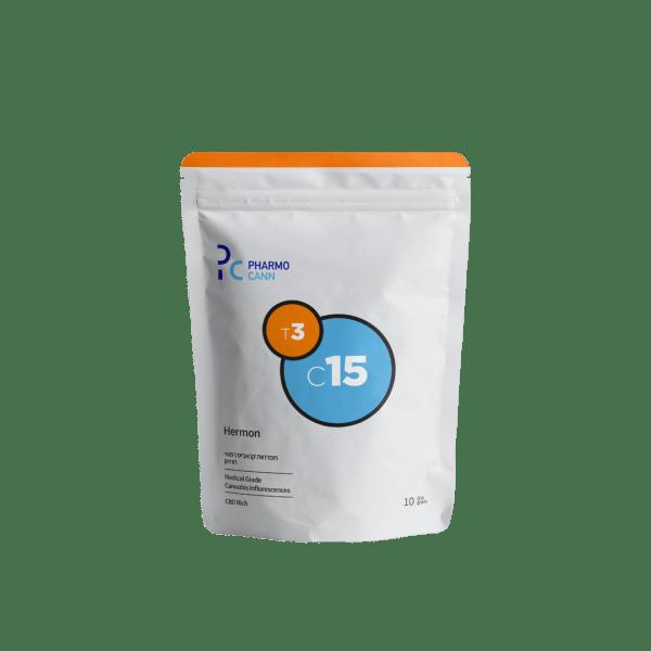 תפרחות קנאביס חרמון בלנד T3C15
