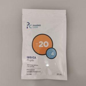 תפרחות קנאביס רפואי - מגידו (Megido) - T20/C4 (אינדיקה) פארמוקן