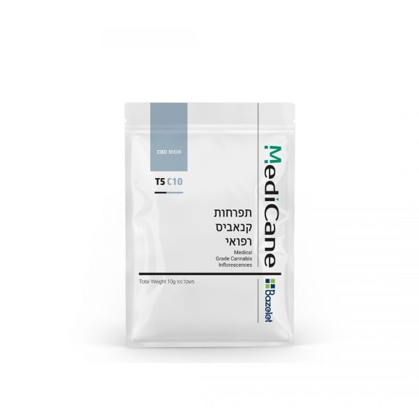 תפרחות קנאביס מדיקיין T5C10