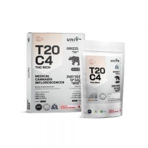 תפרחות קנאביס גריזלי אינדיקה T20C4
