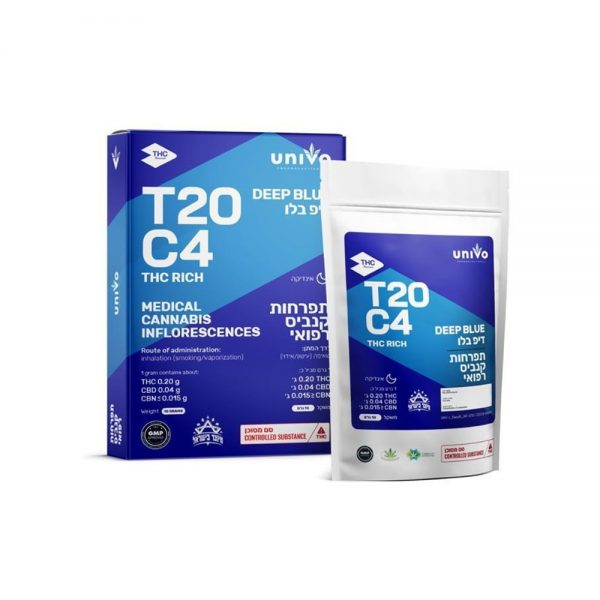 תפרחות קנאביס דיפ בלו Deep Blue אינדיקה T20C4