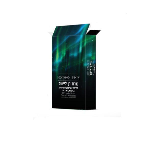תפרחות קנאביס נורת'רן לייטס - Northern Lights - מבית קנדוק. זן אינדיקה במינון T20/C4. מתאפיין בארומה פירותית וטעם הדרי.מיועד לשימוש לילה. קנדוק נורת'רן לייטס